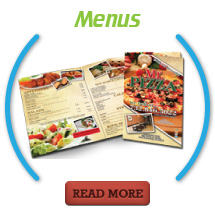 Menus Printing Services